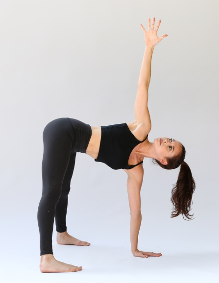 Revolved Wide-Legged Forward Fold - Parivrtta Prasarita Padottanasana